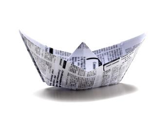 bateau origami détente journal mondial