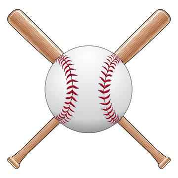 Baseball With Bats