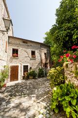 Pennabilli (Pesaro e Urbino, Montefeltro, Marches, Italy), old v