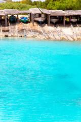 Es Calo de San Agusti port in Formentera island