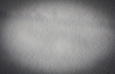 snow as a backdrop