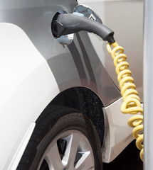 Battery charging of electric car