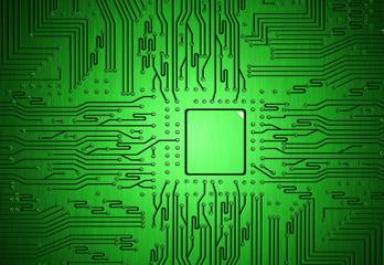 Fototapete - circuit part