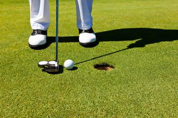 Golf: putting green