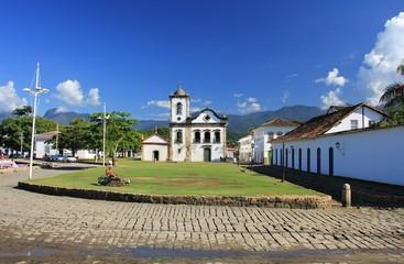 Ville de Paraty au Brésil