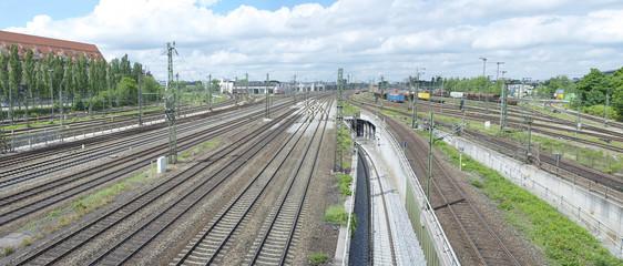 Train line crossing