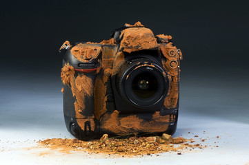 Journalist Dirty Camera.