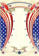 American festive poster