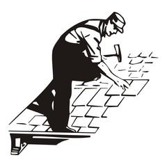 Dachdecker ~ Handwerker