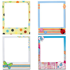 design of kids  photo frame