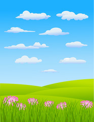 Nature Landscape Background