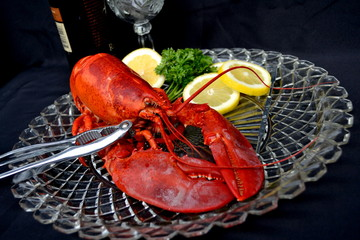 Delicious Lobster Dinner