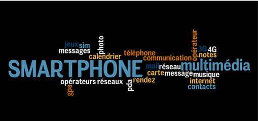 Nuage de Mots :  Smartphone