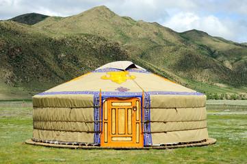 Mongolische Jurte