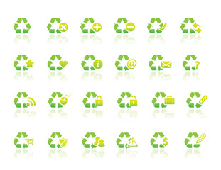 Recycle Icons Simple