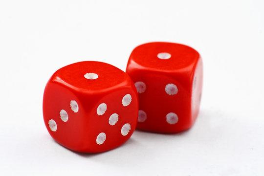 red dice snake eyes