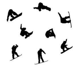 Plaquette de snowboardeur