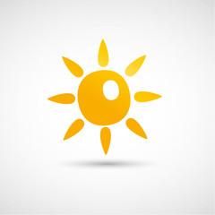 vecteur soleil