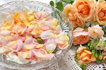 rosenblütenblätter