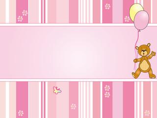 baby card girl
