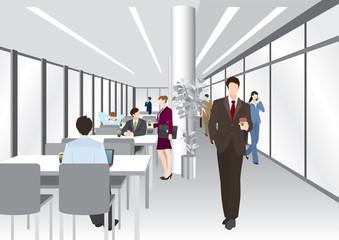 ビジネスのイメージ / オフィス / 休憩