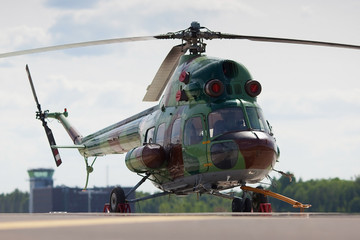 military heicopter