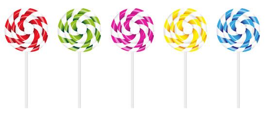 Swirly Lollipop