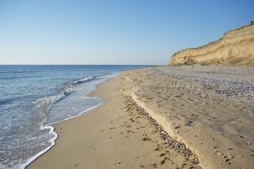 Sand Beach,Black Sea,Bulgaria