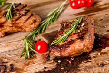 Canvas Prints Meat Delicious beef steak