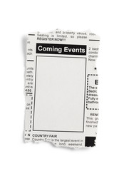 Coming Events Classifieds
