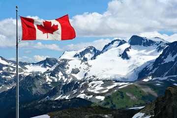 Poster Canada Rocky mountains