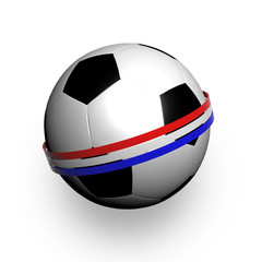 Pallone con bandiera olandese