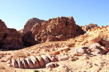 Petra, Lost rock city of Jordan.