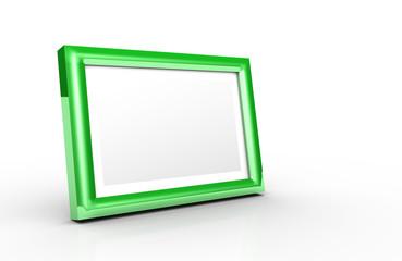 Aluminium Bilderrahmen Grün