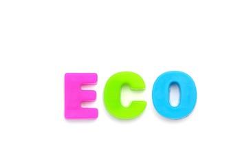アルファベット ECO