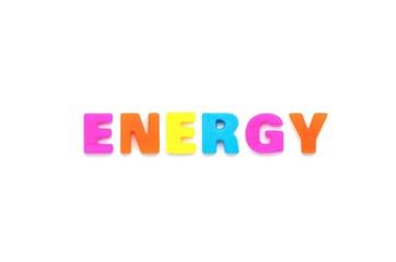 アルファベット ENERGY