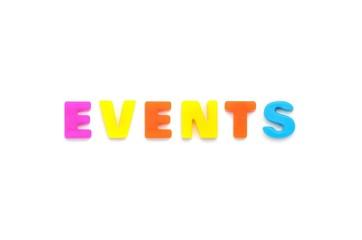 アルファベット EVENTS