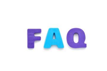 アルファベット FAQ