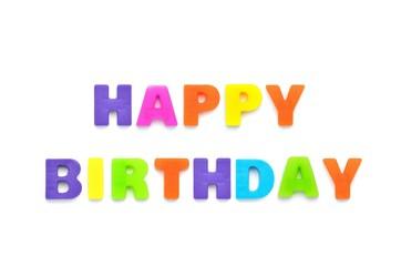 アルファベット HAPPY BIRTHDAY
