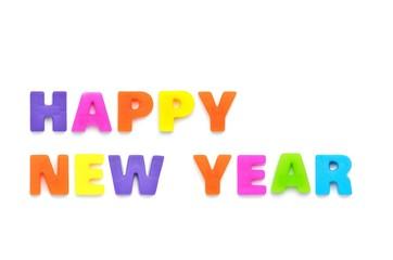 アルファベット HAPPY NEW YEAR
