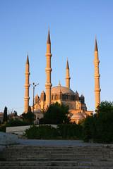 Selimiye Mosque During Sunset,Edirne,Turkey