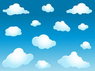 Photo sur Aluminium Ciel clouds collection