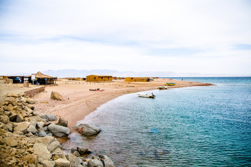 landscape of Red sea