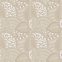mehndi seamless pattern