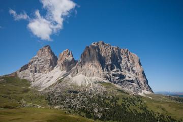 Dolomiti, Passo Sella, Sasso Lungo, Val Gardena