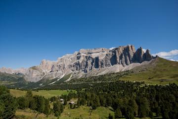 Dolomiti, Sasso Lungo, Val Gardena, Passo Sella