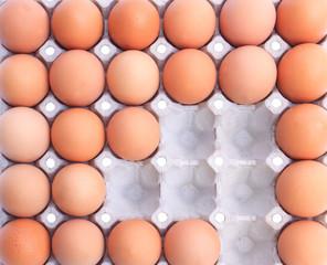 eggs in packaging