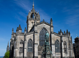 Facade of St. Giles Cathedral