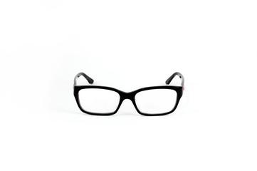 The Fasion eyeglasses  isolated on white Background