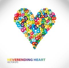 love neverending heart